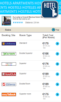 Screenshot of Cheap hotels & hostel deals