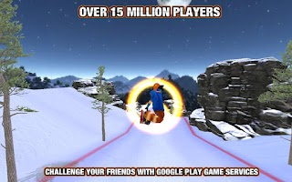 Screenshot of Crazy Snowboard