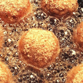 Meet balls in  a hot oil by Ivka Njegac - Food & Drink Cooking & Baking (  )