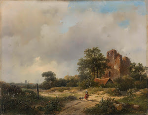 RIJKS: Andreas Schelfhout: painting 1844