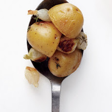 Roasted Pearl Onions and Potatoes