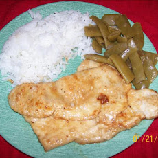 Turkey Scaloppine With Lemon