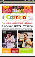 Screenshot of Correio*