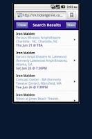Screenshot of Dave Matthews Band Tickets