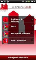 Screenshot of Bellinzona Guide (Deutsch)
