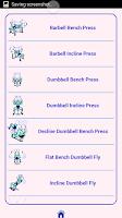 Screenshot of Maximum Muscle Workout Plan