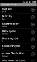 Screenshot of Simple Wars Lite