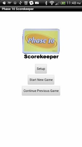 Phase 10 Scorekeeper Free