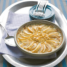Baked Pears with Cream
