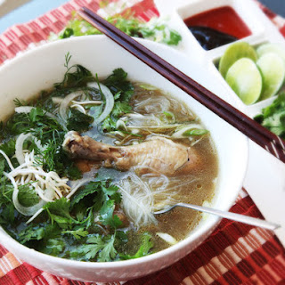 30-Minute Pressure Cooker Pho Ga (Vietnamese Chicken Noodle Soup)