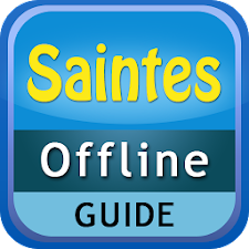 Saintes Offline Map Guide