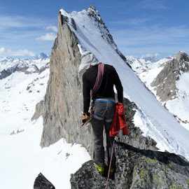 Looking back by Igor Gruber - Sports & Fitness Climbing ( mountains )
