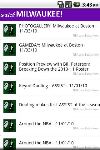 【免費體育競技App】Watch Milwaukee!-APP點子