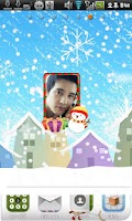 Screenshot of Christmas Frame Widget Fourth