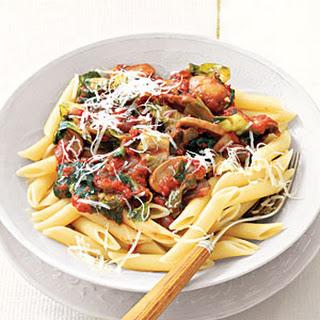 Pasta With Mushroom And Tomato Sauce Recipes