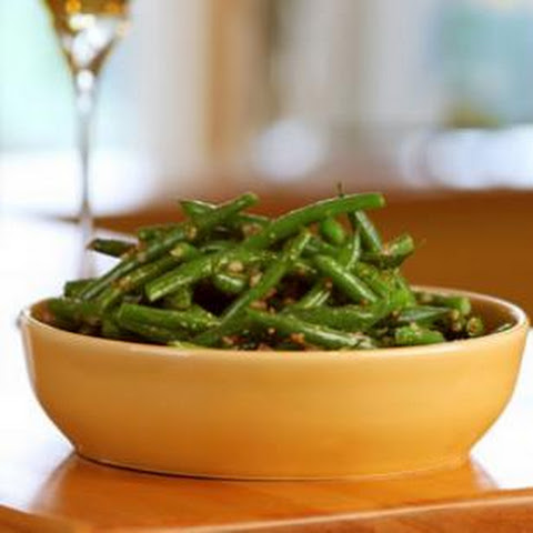 Lemon-Dill Green Beans