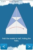 Screenshot of Paper Airplanes Folding