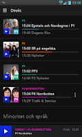 Screenshot of Sveriges Radio Play