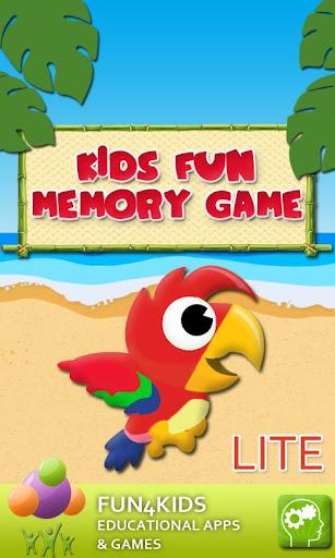 キッズ楽しいメモリゲームLiteの