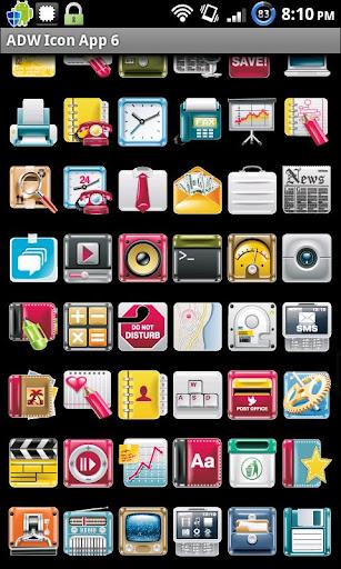 Icon App 6 ADW OH DVR CP