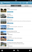 Screenshot of Texas Travel Guide by Triposo