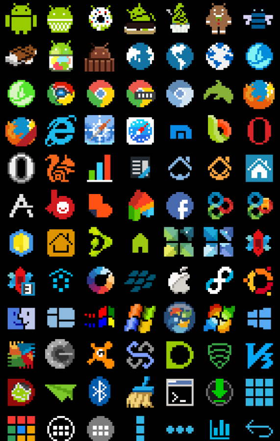 8-BIT Icon Theme Screenshot 3