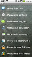 Screenshot of Handcent SMS Polish Language P