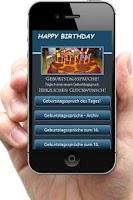 Screenshot of Die Geburtstagssprüche App
