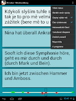 Screenshot of Němčina - Idiomy a fráze