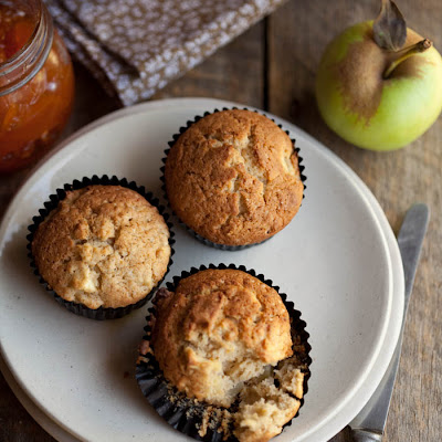 Apple And Cinnamon Muffins With A Hint Of Orange
