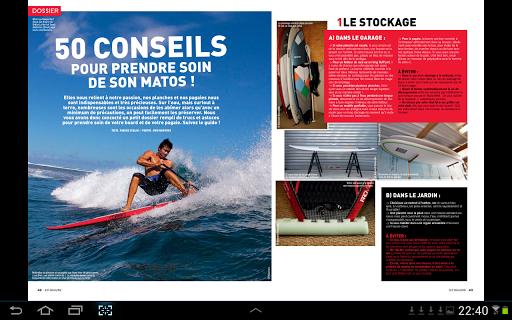 SUP Magazine - screenshot