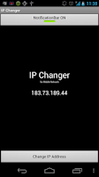 Screenshot of IP Changer for Mobile Network