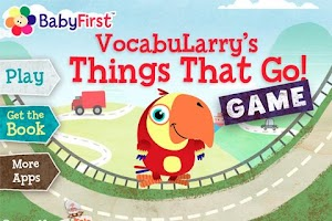 Screenshot of VocabuLarry's Things Game