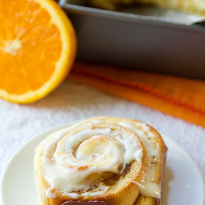 Orange Marmalade Cinnamon Rolls