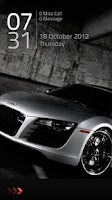 Screenshot of Audi Lock Screen Theme