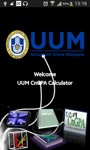 UUM CnGPA CALCULATOR - screenshot