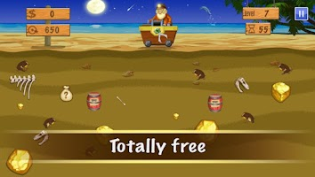 Screenshot of Gold Miner Deluxe(old version)