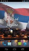 Screenshot of 3D Serbia Flag Live Wallpaper