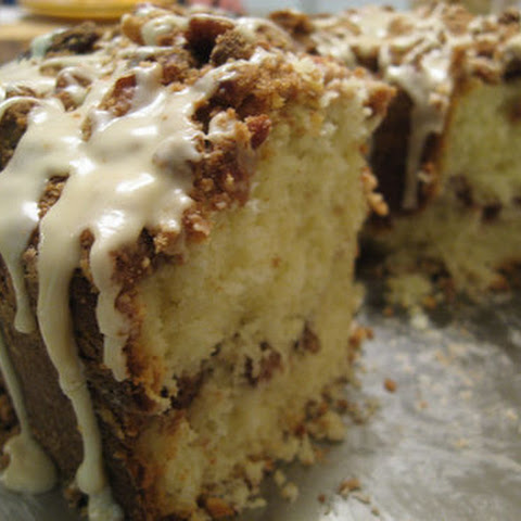 Delightfully Moist Coffee Cake With Sour Cream