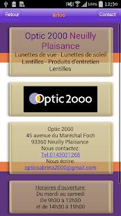 Optic 2000 Neuilly Plaisance - screenshot