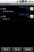 Screenshot of My Location