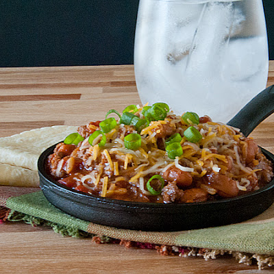 Beef and Bean Taco Skillet