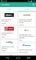 Screenshot of Offers,Coupons - SaveZippy