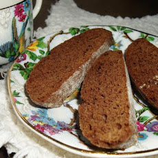 Mexican Dark Chocolate Biscotti
