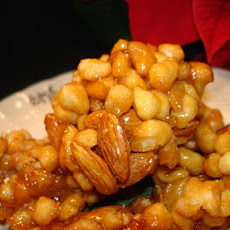 Italian Honey Balls (Pignolata or Struffoli)