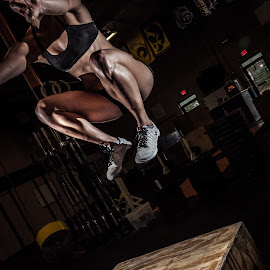 Sky High by Ian Jacobs - Sports & Fitness Fitness