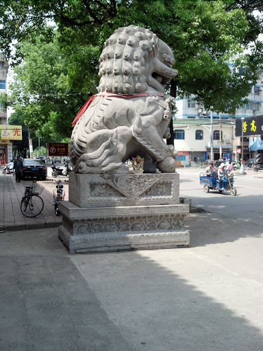 宁国寺石狮子