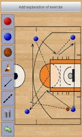 Screenshot of Basketball Coach