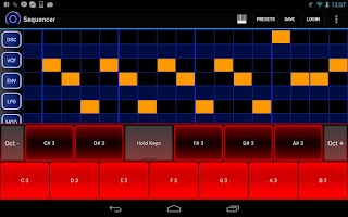 Screenshot of Heat Synthesizer Demo BETA