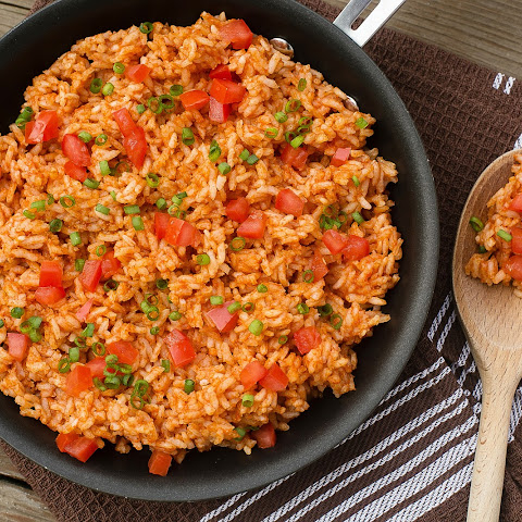 Mexican Rice and Cantina Pinto Beans